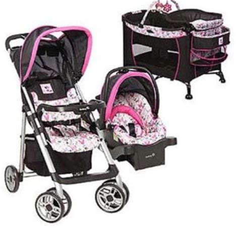 car seat stroller pack and play bundle disney baby minnie mouse car seat from