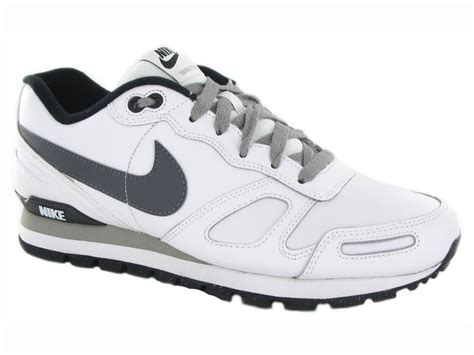 nike air waffle trainer leather mens shoe sport flash