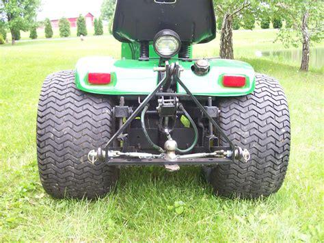 plowing   garden tractor  part  john deere