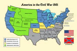 us civil war and south map book and the holstein