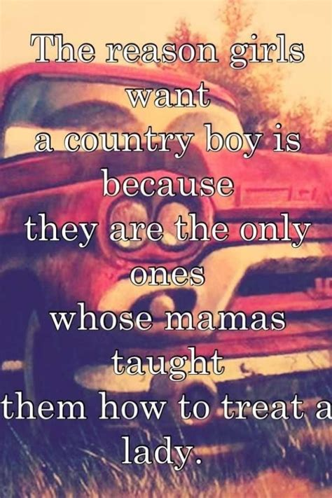 country guys perfect relationship