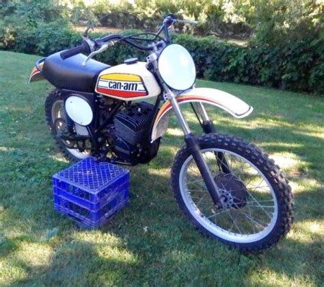 can am motocross bikes 1975 can am mx2 250 vintage motocross bike can am ahrma