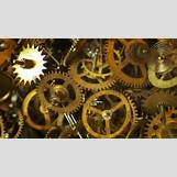 Gears And Clockwork Wallpaper   852 x 480 jpeg 68kB