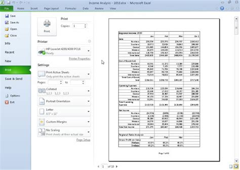 print selected worksheets excel excel 2003 print two worksheets on one page how to print