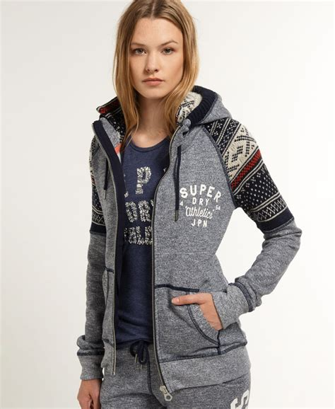 L7276 Jfashion Womens Hoodie Jacket With Zippe Kode Pl7276 5 superdry hoodies womens happier