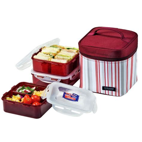 Lunch Storage Containers Lock And Lock Insulated Thermal Lunch Box Portable Picnic