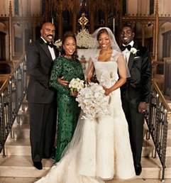 steve harvey daughter wedding