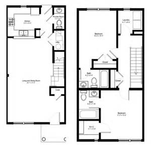 Two Bedroom Townhouse Erie Station Village Rochester Ny Townhouse Floorplans