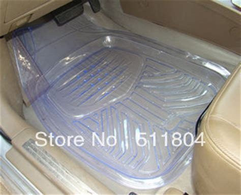 Plastic Floor Mat For Cars by Universal Car Waterproof Plastic Mat Auto Transparent Pvc