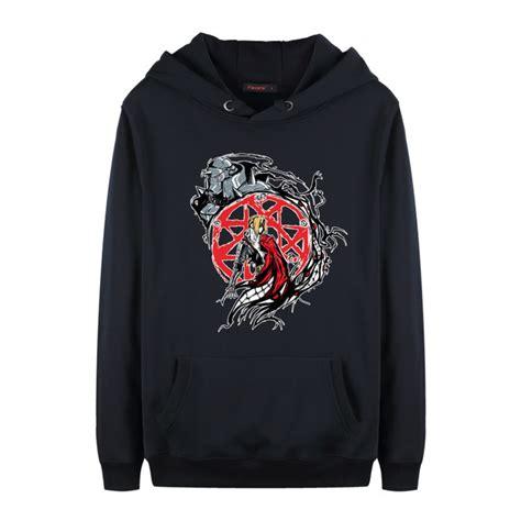 Sweater Hoodie Zipper Metal Alchemist fullmetal alchemist hoodie