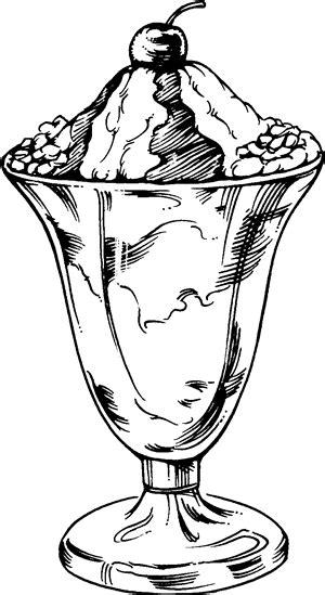 zbrush sketchbook ice cream sundae by evanstanley on ice cream sundae drawing sketch coloring page