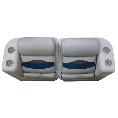 wise premium pontoon boat seats wise 174 premium pontoon lean back recliner seat right