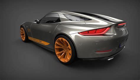 Porsche 921 Concept by Porsche 921 Vision Is A Design Concept For A Modern 928 Gt