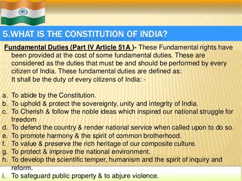 As A Citizen Of India My Duties Are Essay Writing For by Our Indian Constitution
