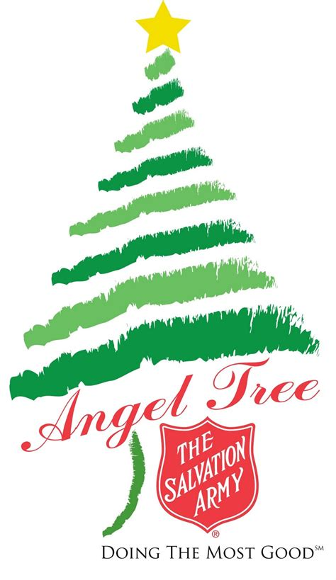 new angel tree logo dmg the salvation army central