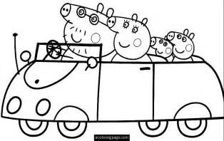 draw and color peppa pig 11 printable coloring pages
