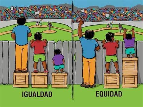 imagenes sobre justicia y equidad la diferencia entre igualdad y equidad el avance del oeste