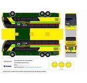 SP Papel Modelismo PaperCraft &212nibus Busscar Panoramico