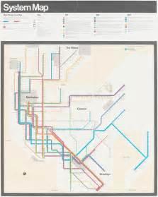 Vignelli Subway Map by Massimo Vignelli Graphic Designer Amp Information Architect