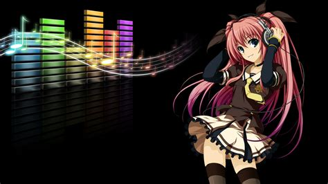 os x wallpaper anime 1920x1080 head phones anime girl desktop pc and mac wallpaper