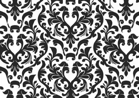 wallpaper black png damask black and white wallpaper clip art at clker com