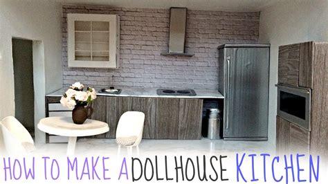 dollhouse kitchen diy dollhouse kitchen
