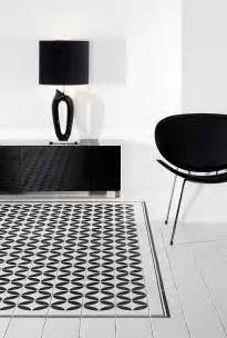 Black And White Ceramic Floor Tile Tile Floor Design Ideas