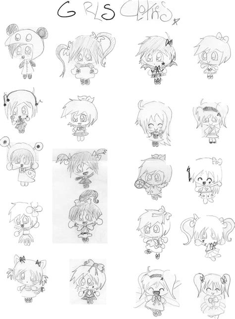 How To Draw Chibi Boy Clothes Free Chibi Girls Clothes By Magnumkiyoshi On Deviantart by How To Draw Chibi Boy Clothes Free