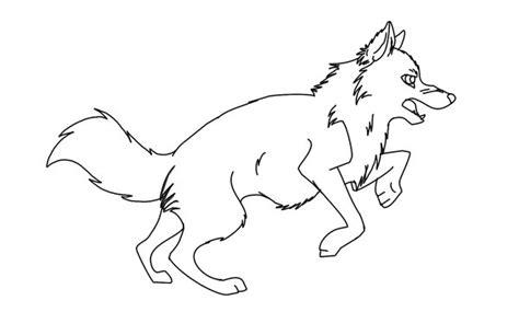 imagenes para colorear lobo lobos dibujos para colorear
