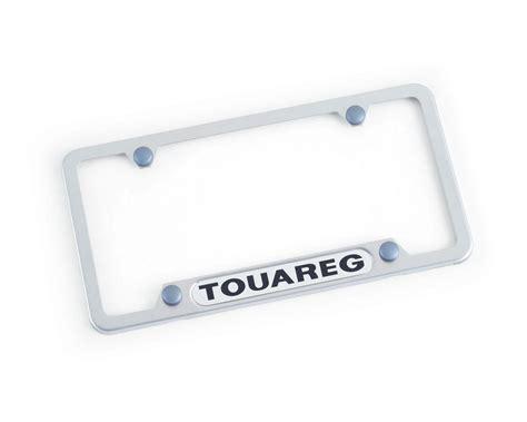 Vanity License Plate Frames by Volkswagen Touareg License Plate Frame Touareg