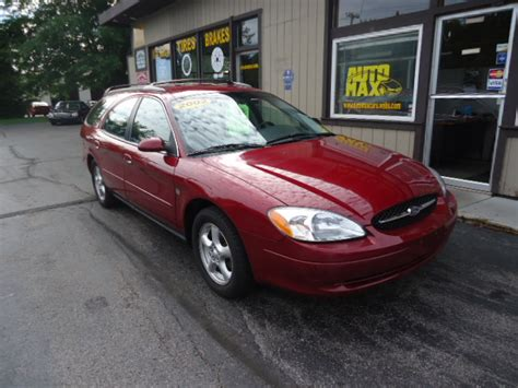 Cherry Red 4 Door Wagon 66 000 Miles Automatic 3 0l V6