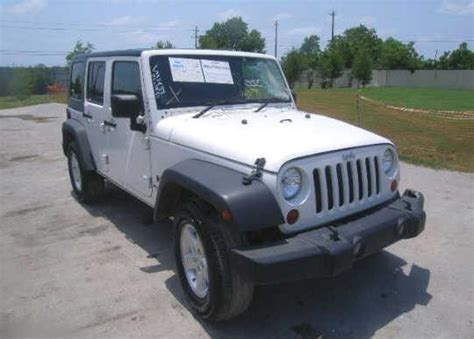 Salvage Jeep Wrangler For Sale Contact Us To Buy Salvage Cars Trucks Bikes Boats Rvs