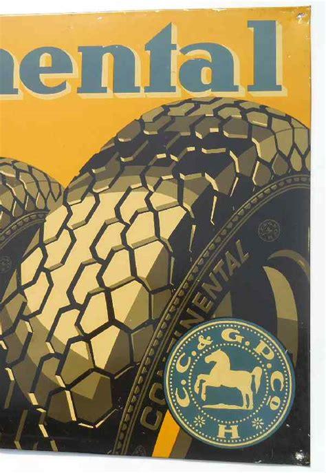 Oldtimer Motorrad Werkstatt Berlin by Angebot Blechplakat Oldtimer Reklame Continental