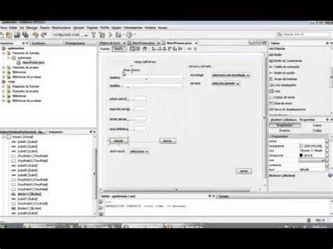 tutorial netbeans jframe jframe netbeans parte 3 youtube