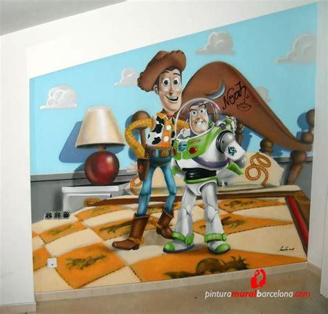 imagenes niños bebes murales de dibujos animados de toy story bebes para cuartos