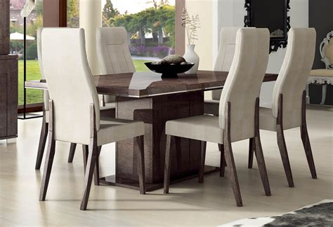 esf furniture prestige dining table w 18 quot extension in