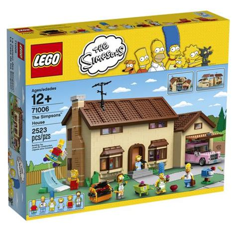 Walmart House lego 174 simpsons the simpsons house walmart ca