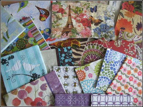 Using Napkins For Decoupage - hopefulilly decoupage candles with napkins