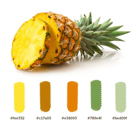 pineapple color pineapple color palette palette in 2019 pineapple