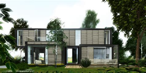delaware housing modular housing contemporary architect in bexley london