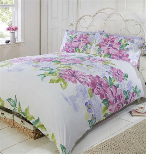 Modern Quilt Bedding Sets by Floral Modern Quilt Duvet Cover Pillowcase Bedding Bed Sets Flowers New Ebay