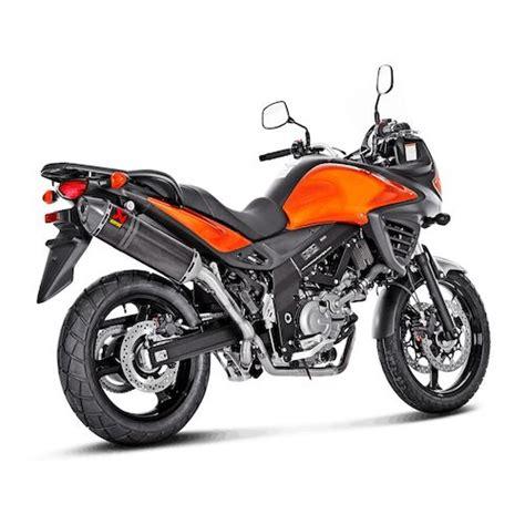Suzuki V Strom Exhaust Akrapovic Slip On Exhaust Suzuki V Strom 650 2004 2015