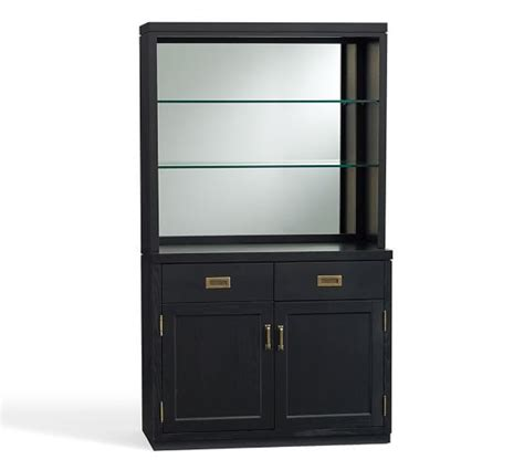 Mirrored Bar Cabinet Ken Fulk Mirrored Bar Cabinet Pottery Barn