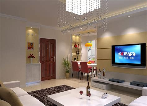 simple interior design living room download 3d house