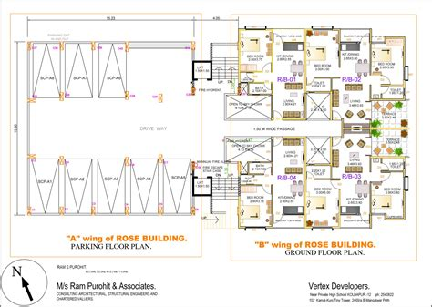 parking floor plan varun flora floor plans project 3d views in kolhapur