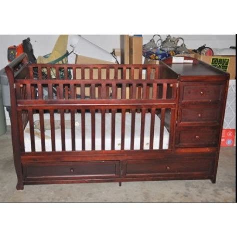 crib with storage nursery