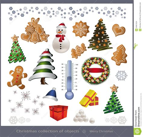 images of christmas objects christmas object stock images image 20907024