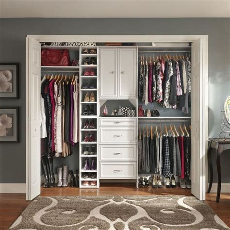 Closet Selectives by Small Walk In Closet Ideas Small Walk In Closet Design