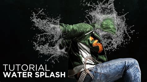 photoshop cs3 water effect tutorial photoshop tutorial amazing water splash effect youtube