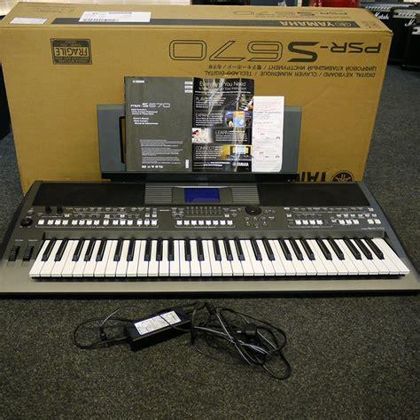 Keyboard Yamaha Psr Second yamaha psr s670 keyboard w box 2nd rich tone
